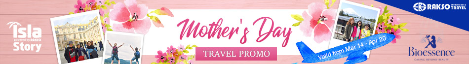 MOTHER'S DAY TRAVEL PROMO