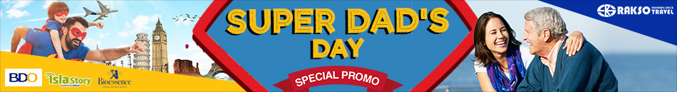 SUPER DAD'S DAY SPECIAL PROMO