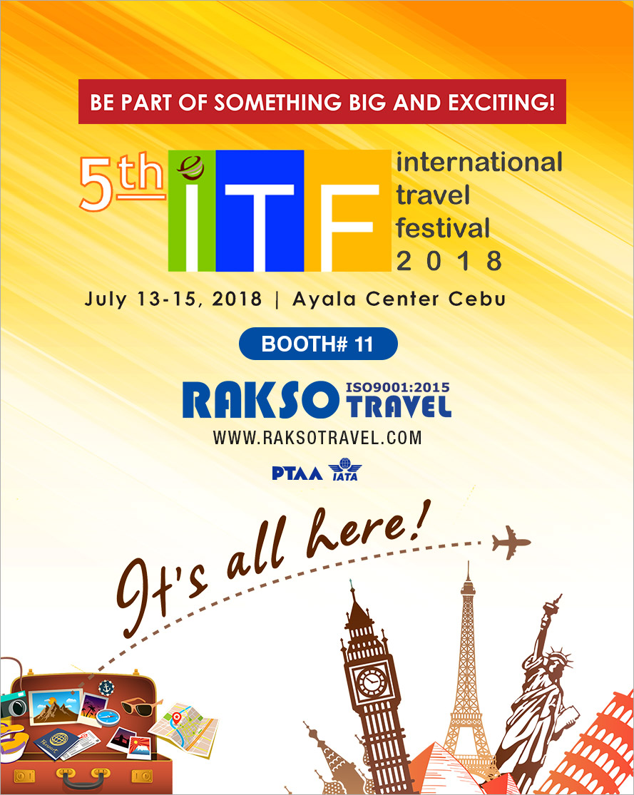 INTERNATIONAL TRAVEL FESTIVAL 2018
