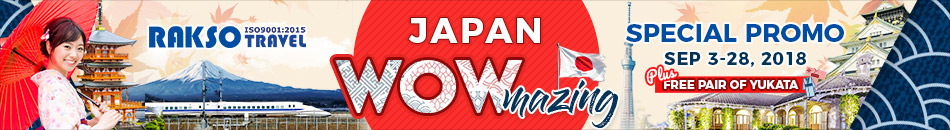 JAPAN WOWMAZING SPECIAL PROMO