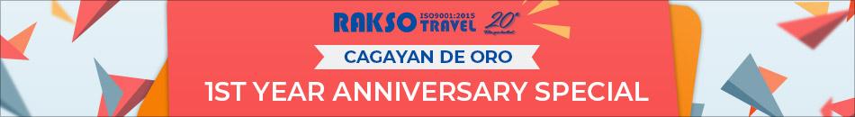 RAKSO CAGAYAN DE ORO CITY 1ST ANNIVERSARY PROMO