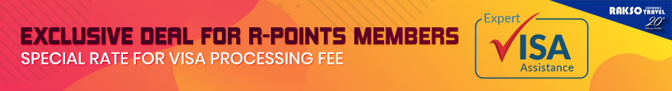 EXCLUSIVE DEAL FOR R-POINTS MEMBER