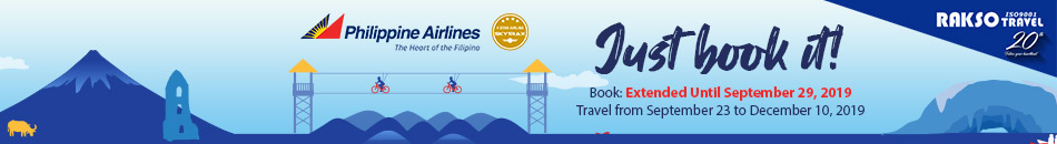PHILIPPINE AIRLINES JUST BOOK IT!