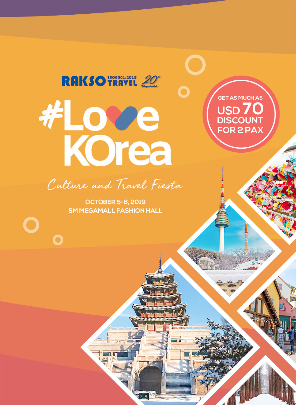 #LOVEKOREA CULTURE AND TRAVEL FIESTA