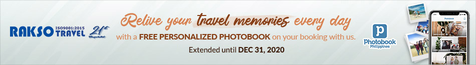 RELIVE YOUR TRAVEL MEMORIES EVERY DAY WITH A PERSONALIZED PHOTOBOOK