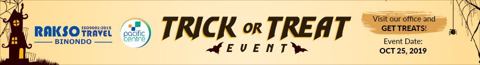 RAKSO BINONDO TRICK OR TREAT EVENT