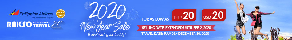 PHILIPPINE AIRLINES 2020 NEW YEAR SALE