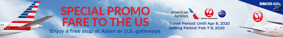 AMERICAN AIRLINES SPECIAL PROMO