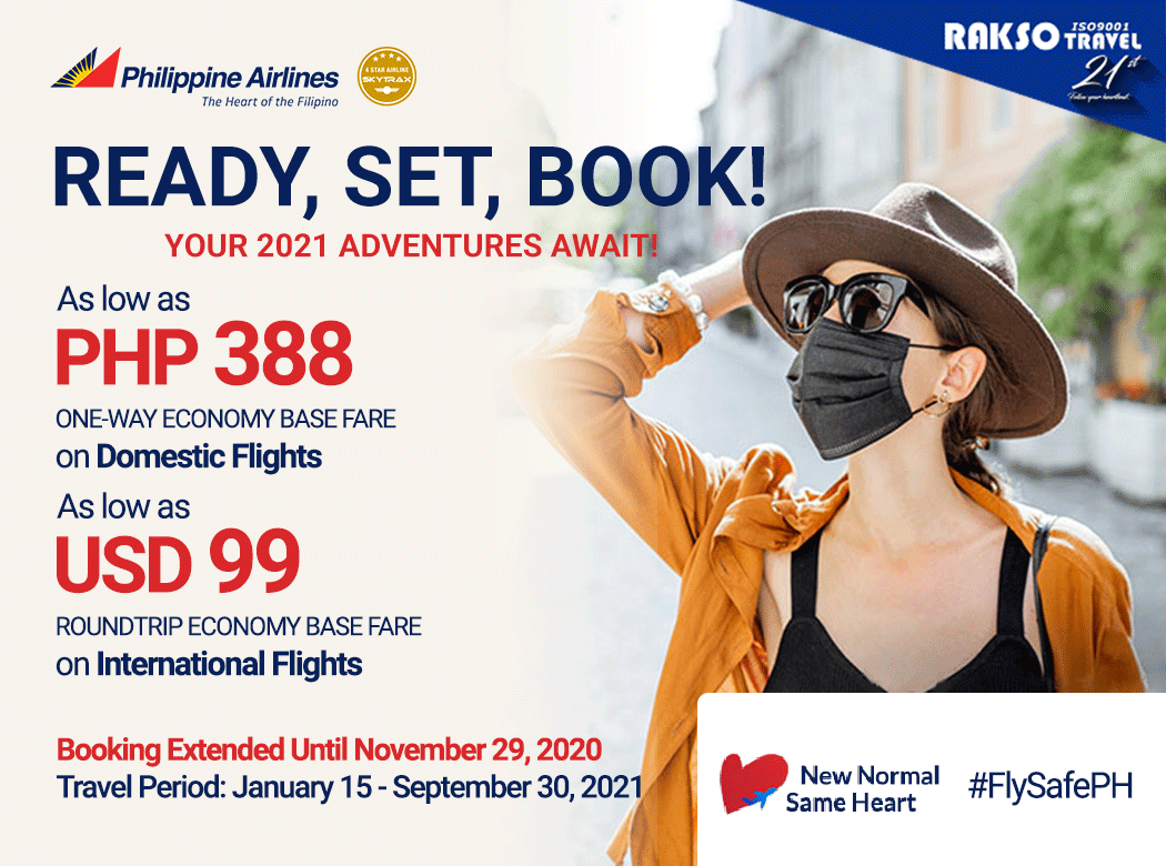 PHILIPPINE AIRLINES READY, SET, BOOK!